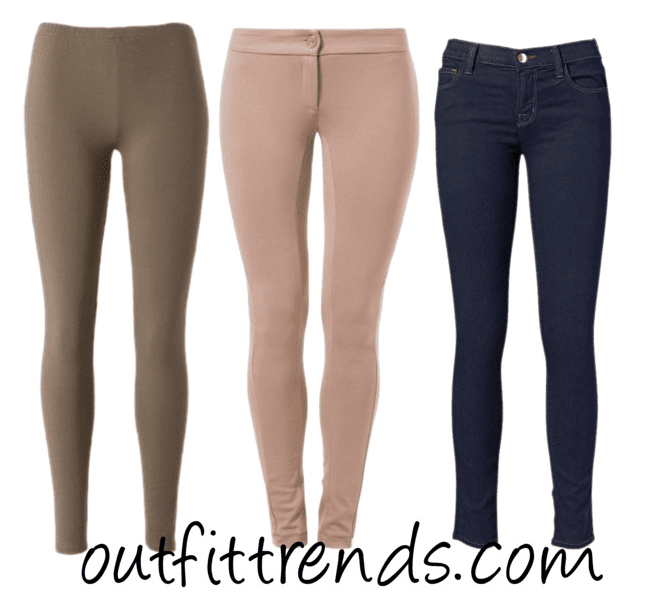 Plain Color Leggings