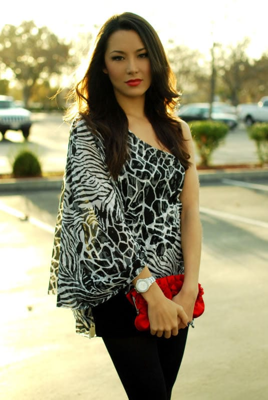 Stylish Animal print outfits for girls