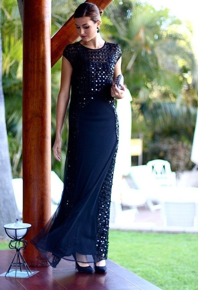 Stylish Gowns for evening Functions