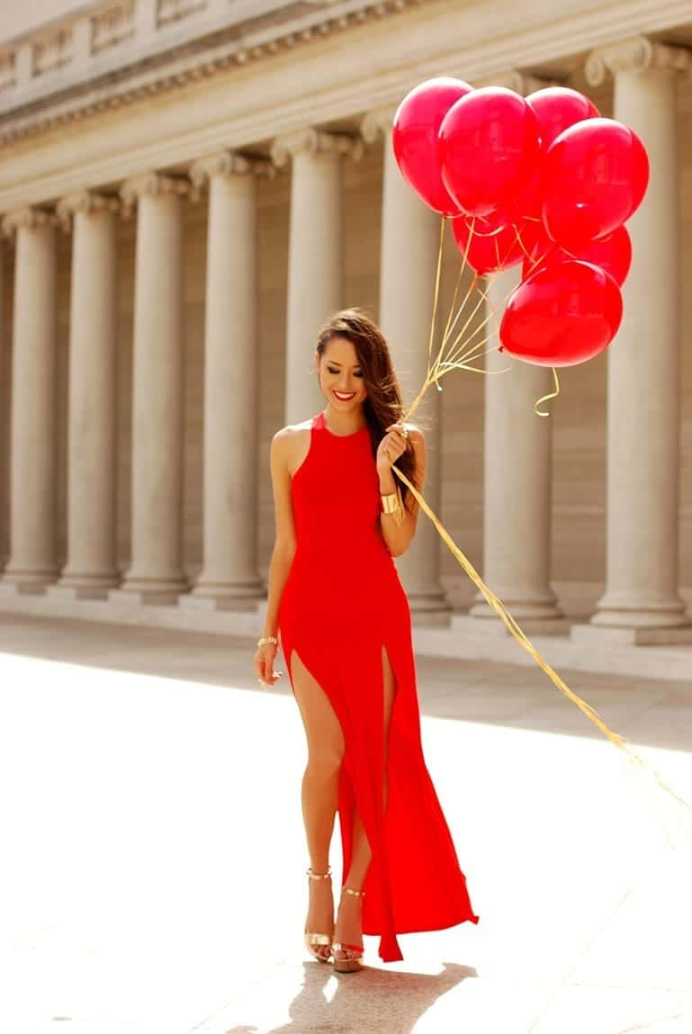 Sylish Red Dresses for Special Occasions