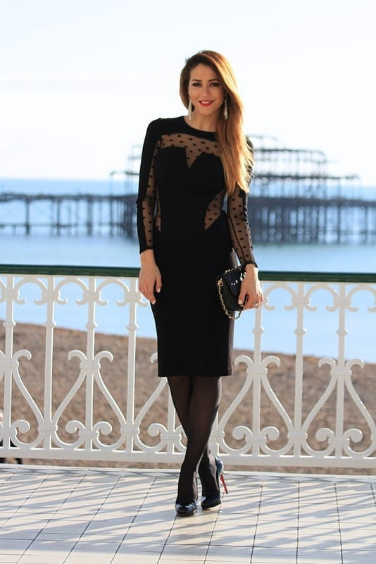 Women Black Dresses for Parties