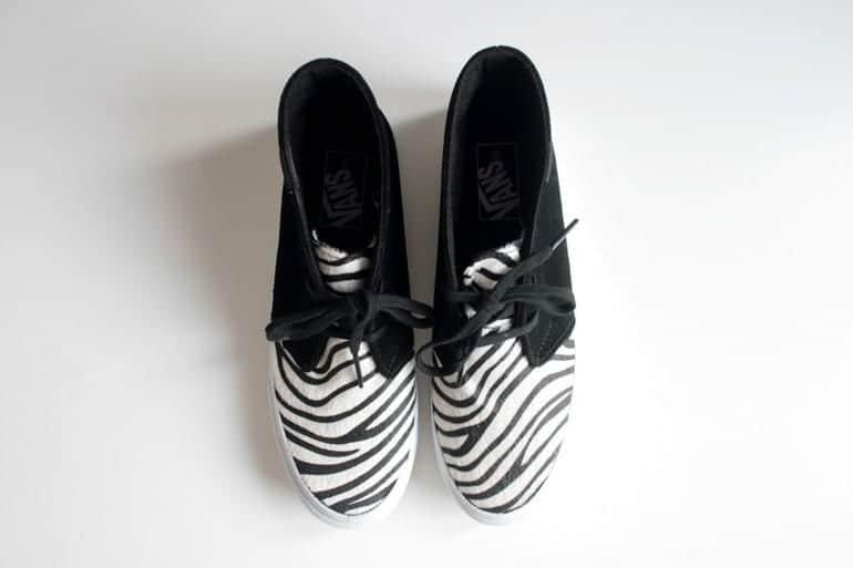 Zebra Print Shoes