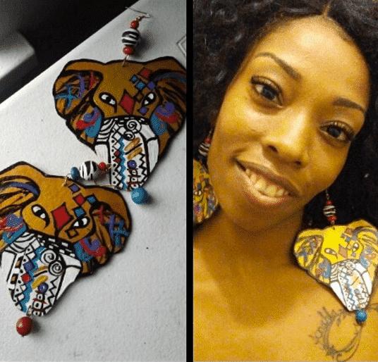 women unique earrings