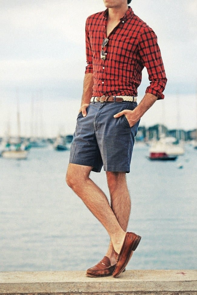 Bermudas style for men