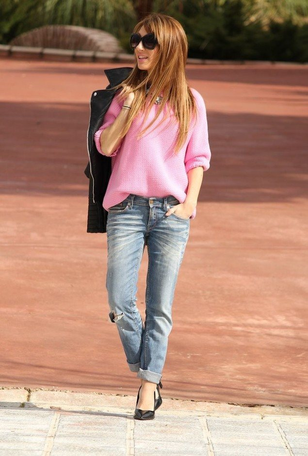 Boyfriend jeans fashion tips