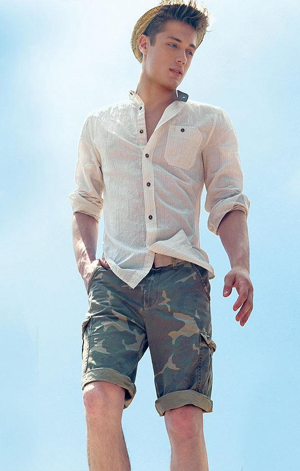 Camo Bermudas for men