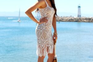 Cool white Lace Dresses