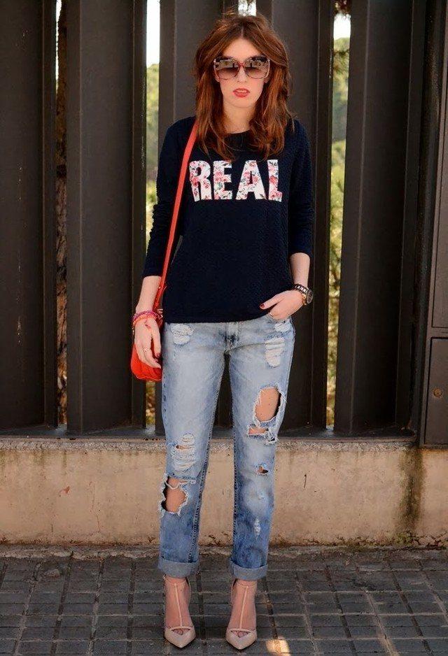 ebcf942e71 21 Popular Boyfriend Jeans Outfits Trends This Season
