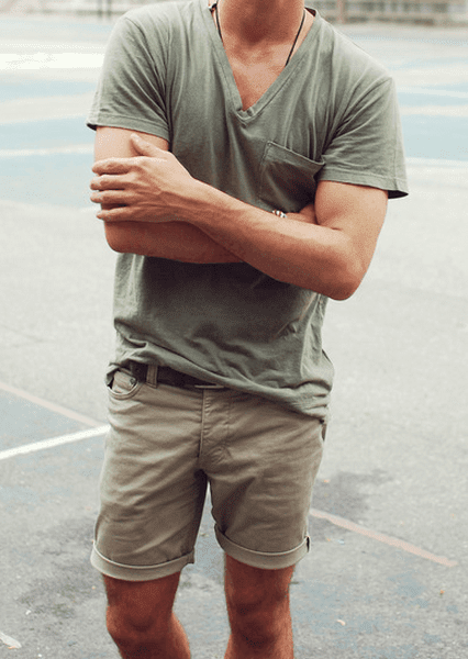 Ideas to wear Bermuda shorts men