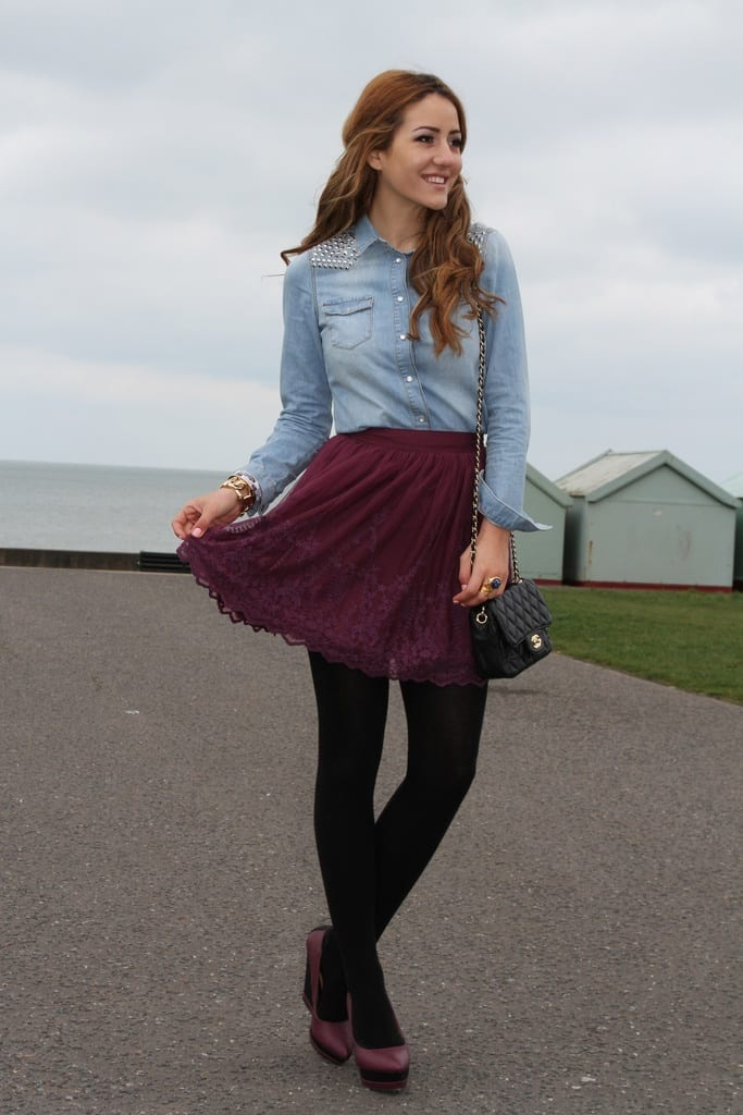 Stylish Lace Skirts