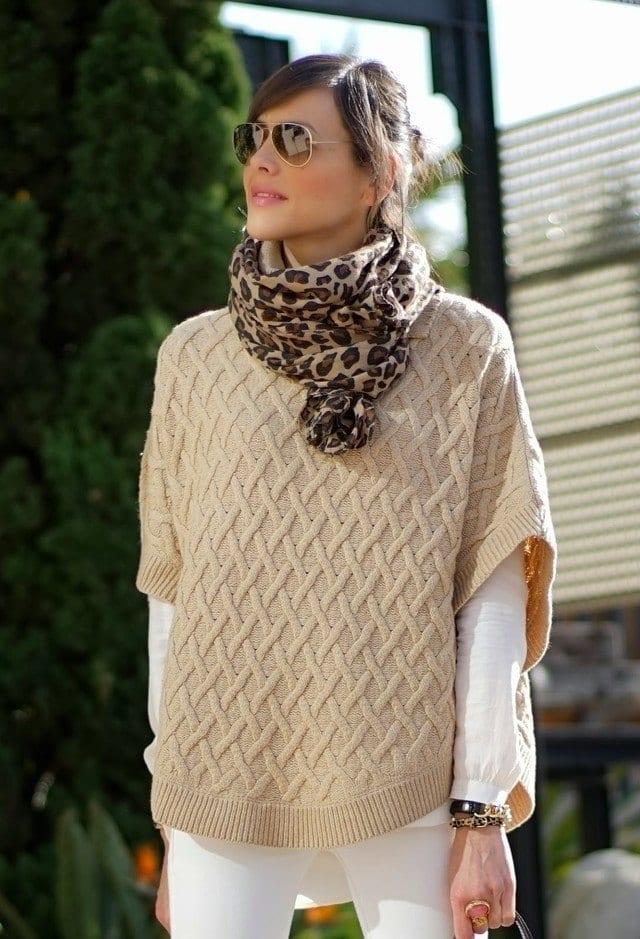 tiger print scarves for women