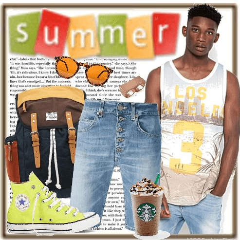 cool beach outfit combinations men