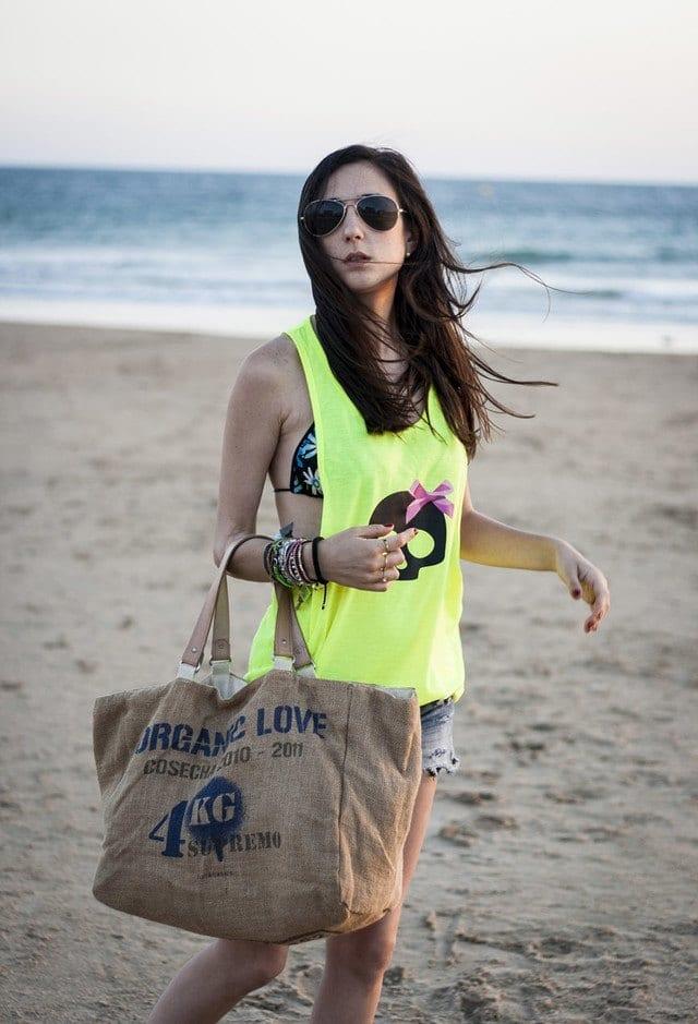 cool women beach looks