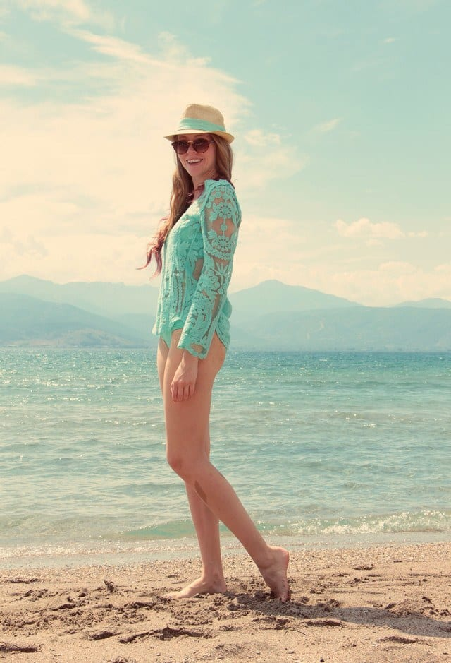 lace dresses for beach