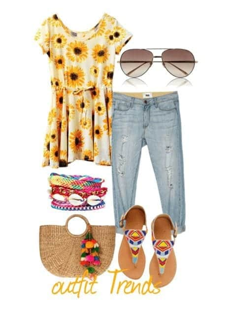 aa7676e5840 10 Most Funky Summer Outfits For Teenage Girls to Try