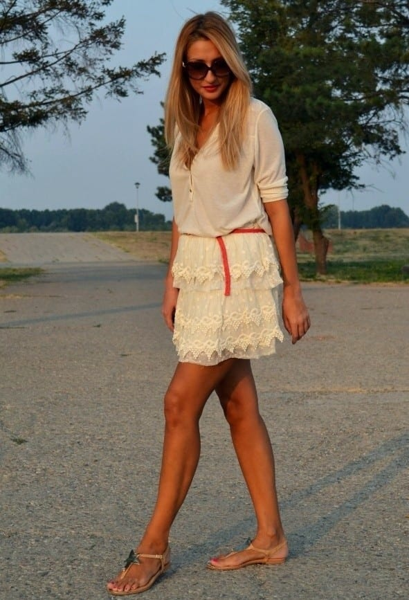 Designers Lace skirts