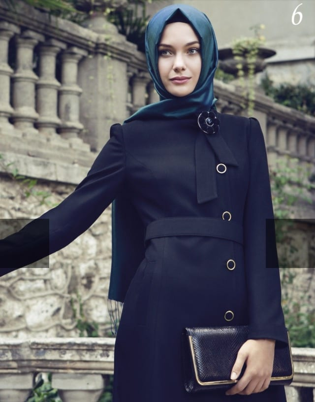 Elegant hijab fashion