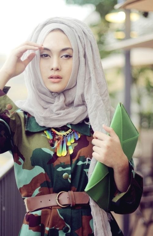 How to combine Hijab with other outfits