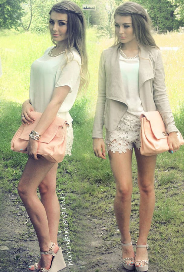 Ideas for Lace Shorts