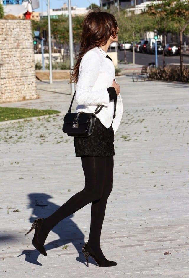 Sexy Black Lace Shorts