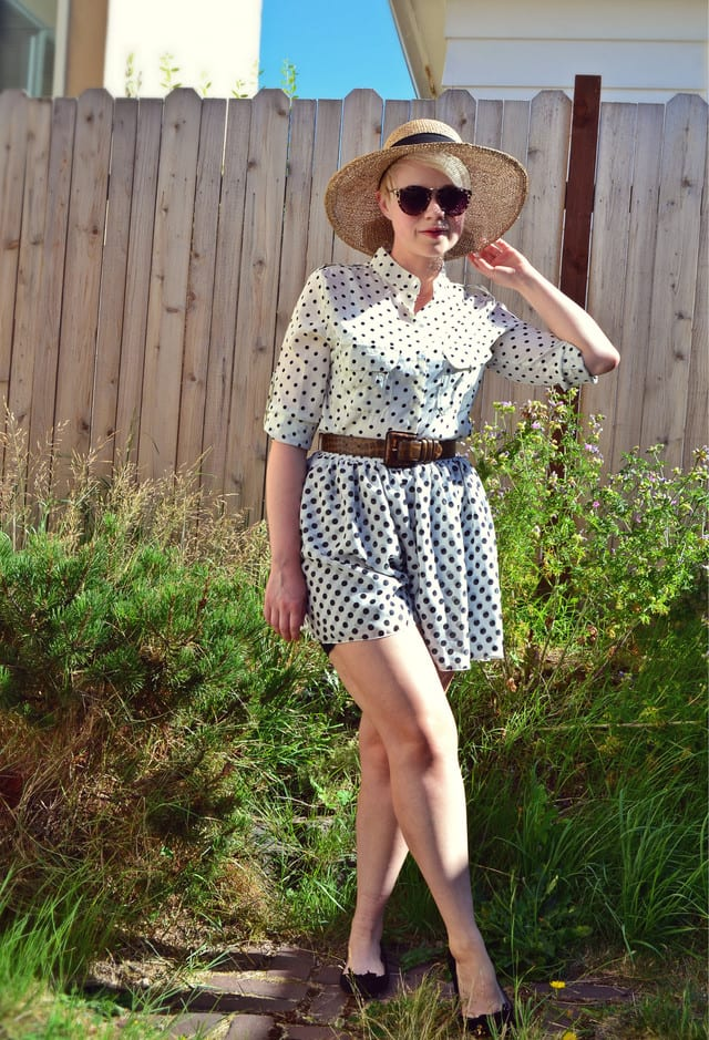 Sexy Polka Dot Outfits Summer