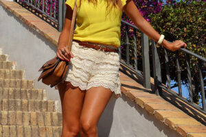 Stylish Lace Shorts