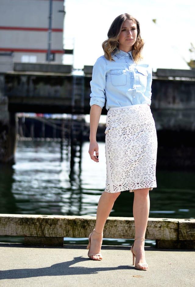 Stylish Lace Skirts