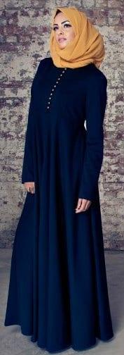 how to wear hijab with fashion