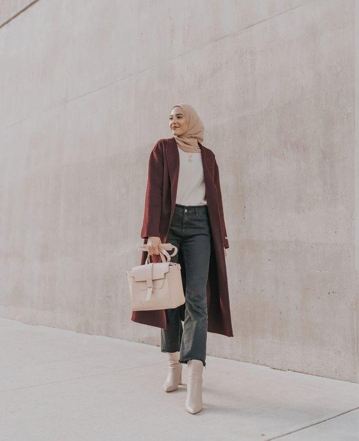 Modern Ways To Wear Hijab
