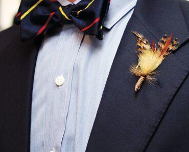 Bow tie men fashion