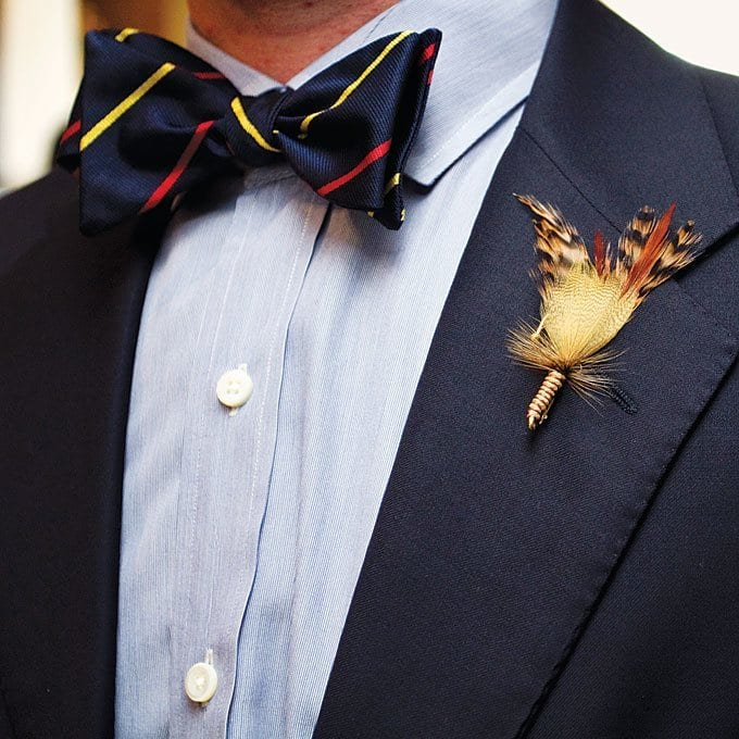 Bow tie men fashion