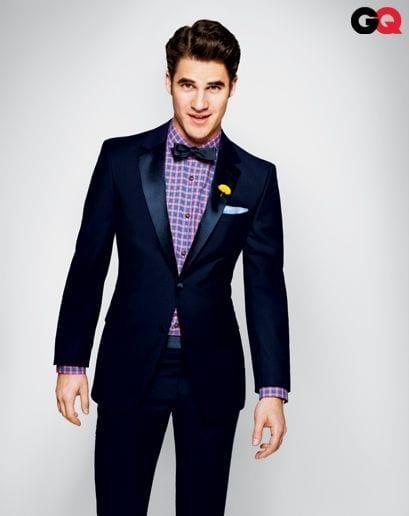 Bow tie with tuxedo