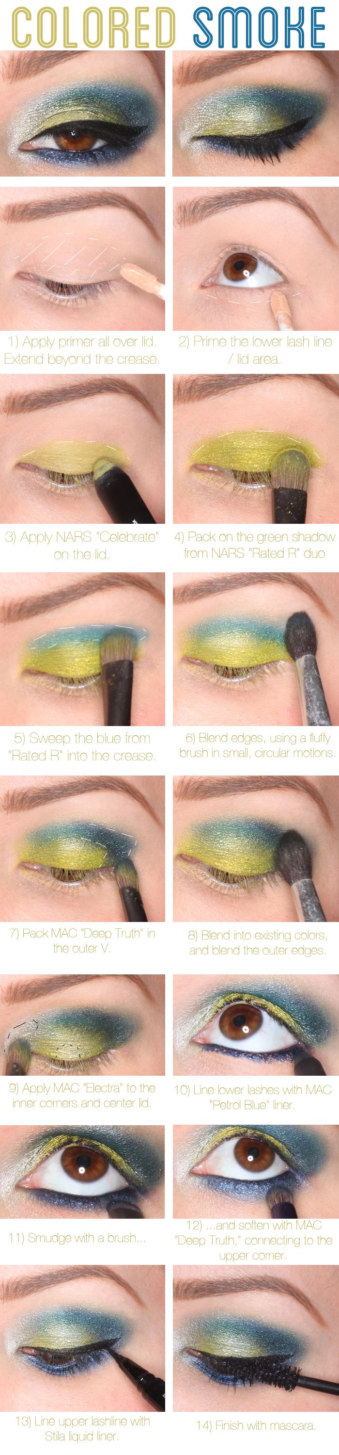 Colorful Smokey Eye Tutorial