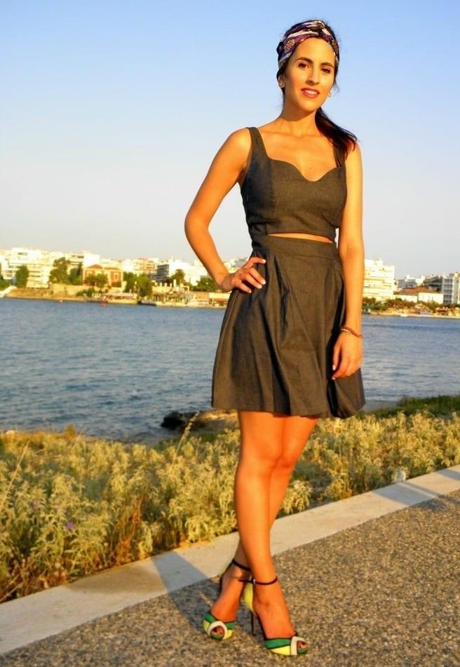 Denim Dress for summer