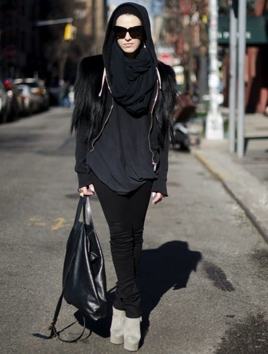 Hijab with jeans