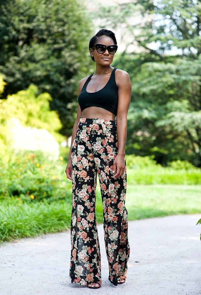 Palazzo Pants for Dark women
