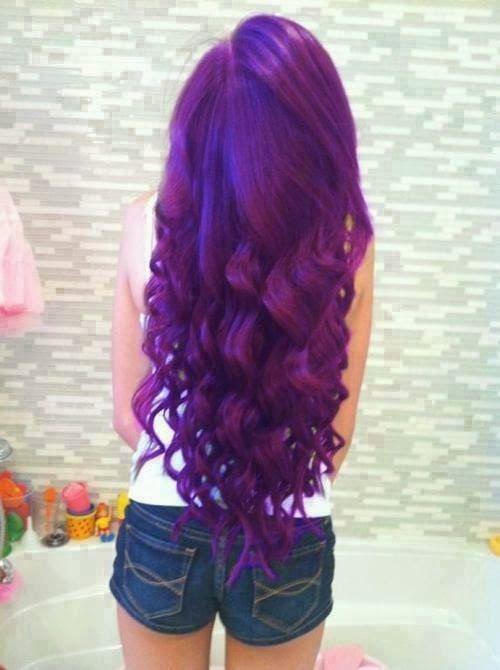 Purple Hair Fashion
