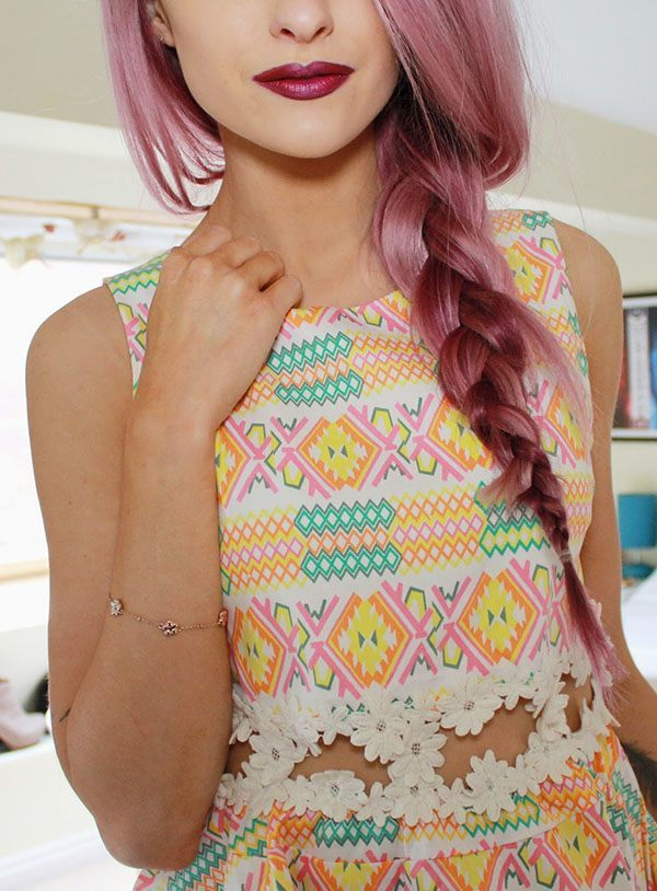 Purple Pink Braid