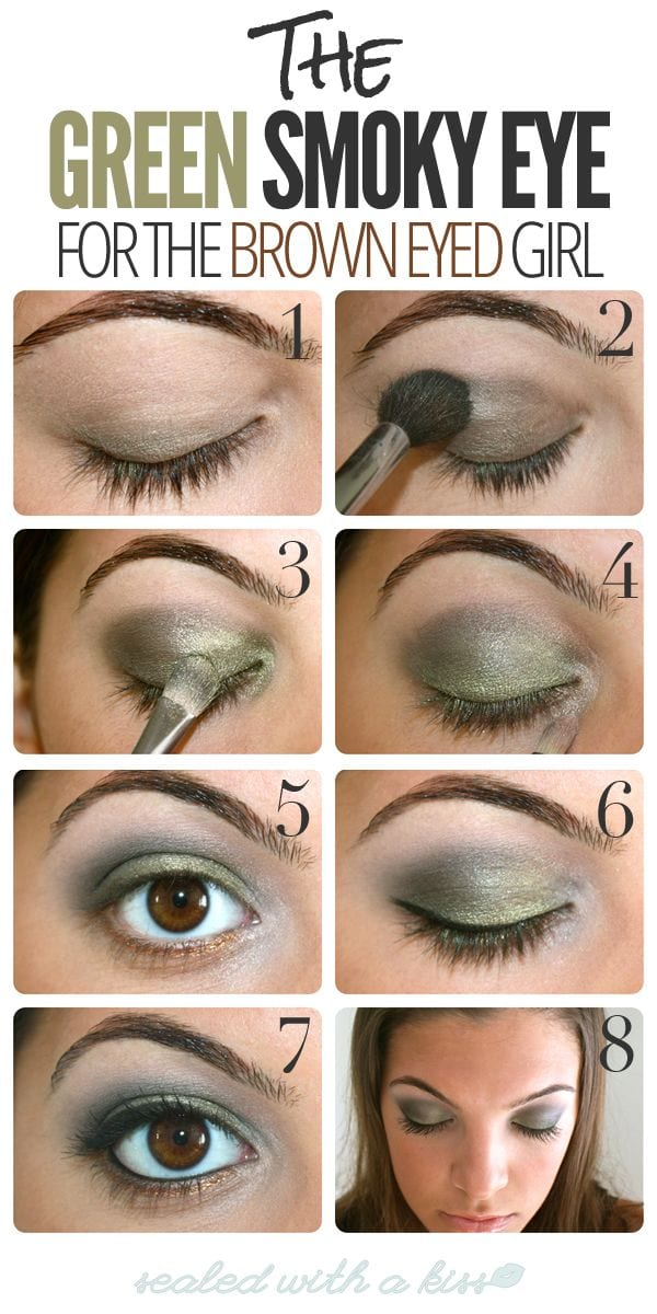 How to do a sexy smokey eye