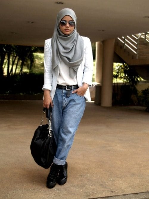 Streetstyle hijab fashion