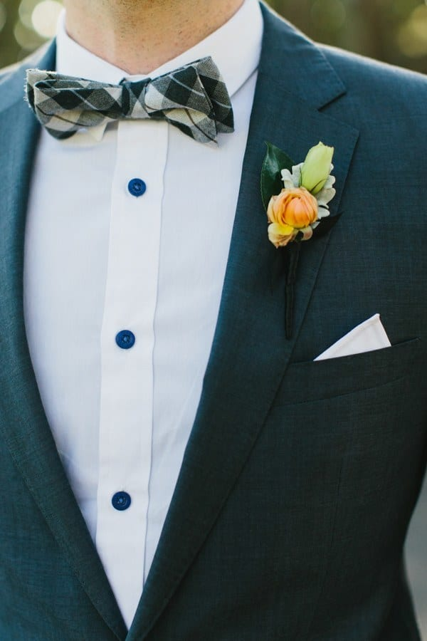 Stylish bow tie men
