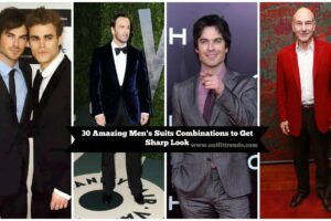 best suit combinations for men this year