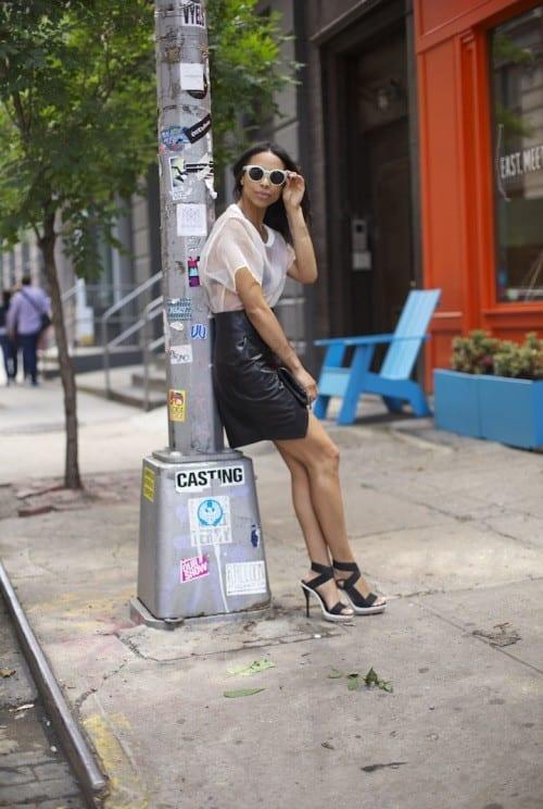 black female fashion