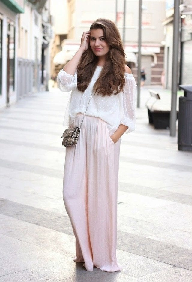 28 Modern Ways To Wear Palazzo Pants With Other Outfits