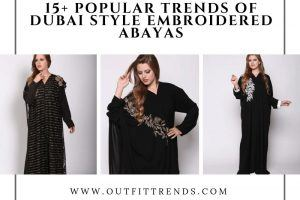 latest dubai embroidered abayas