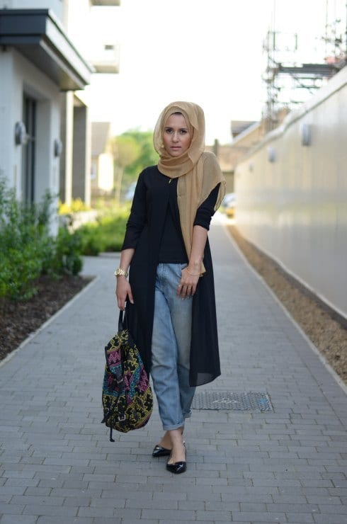 how to wear hijab for chic look