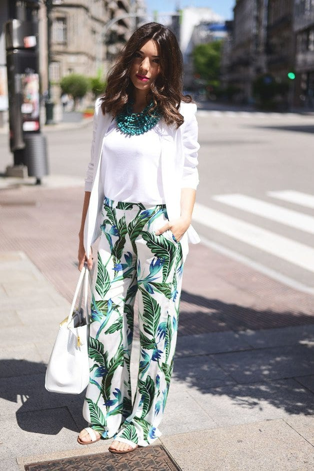 33adcc813609 28 Modern ways to Wear Palazzo Pants with other Outfits