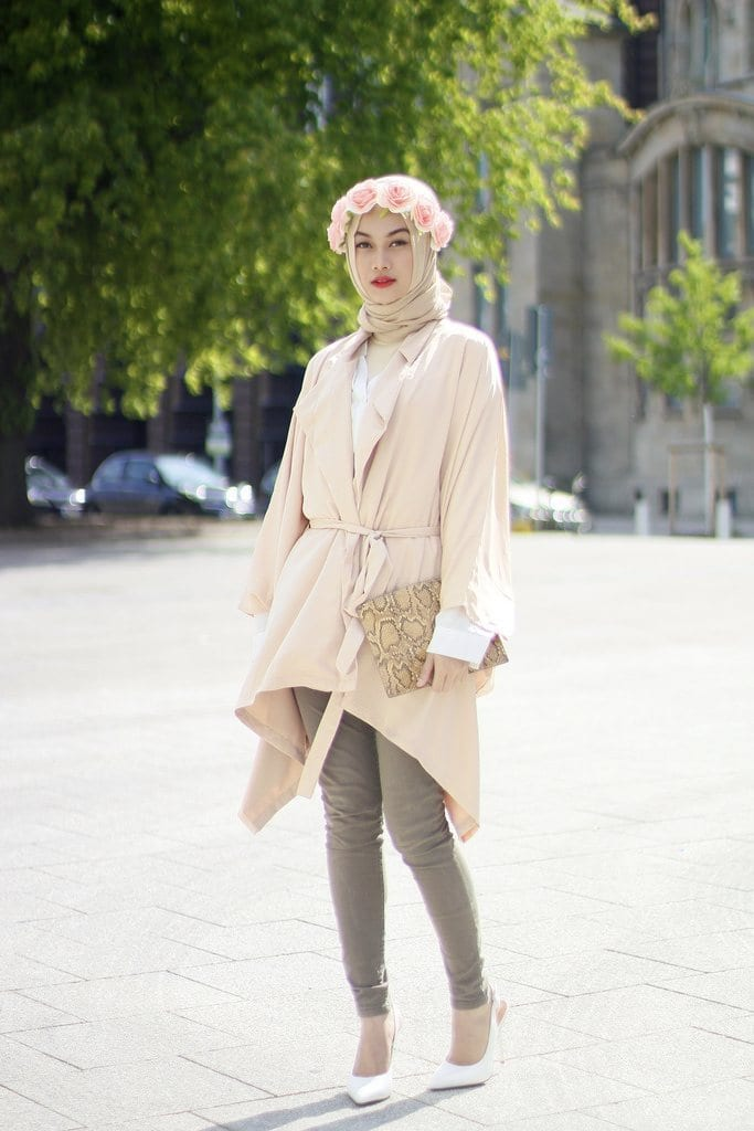 spring hijab fashion