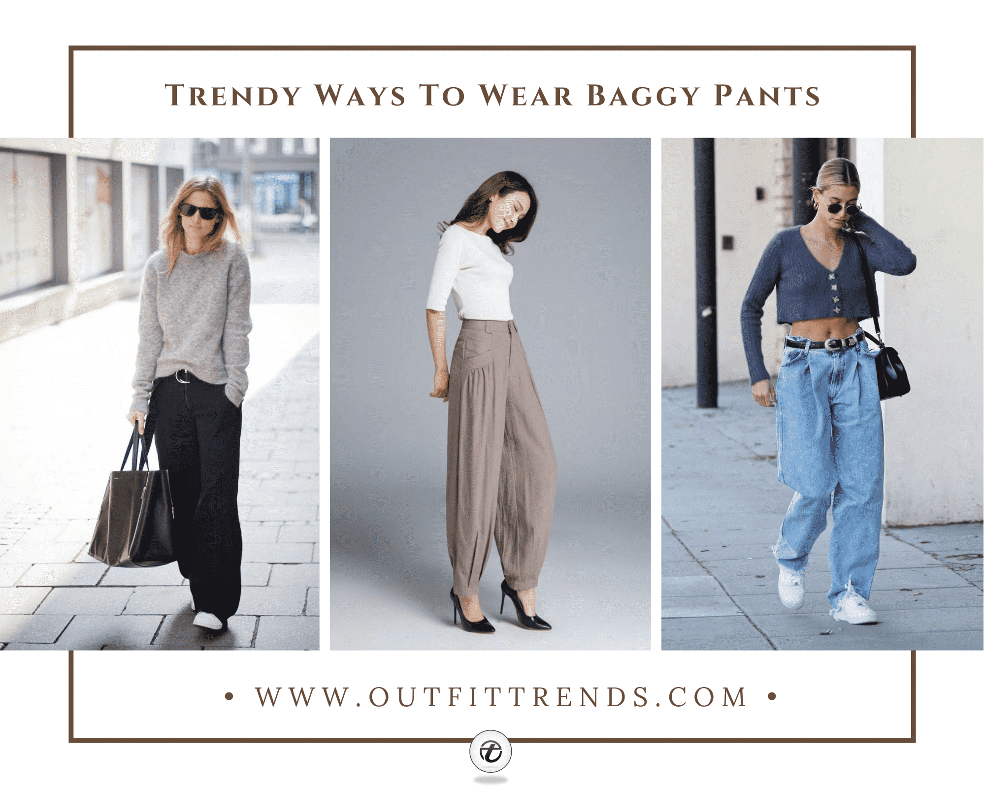 26 Modern Ways to Style Baggy Pants for Girls