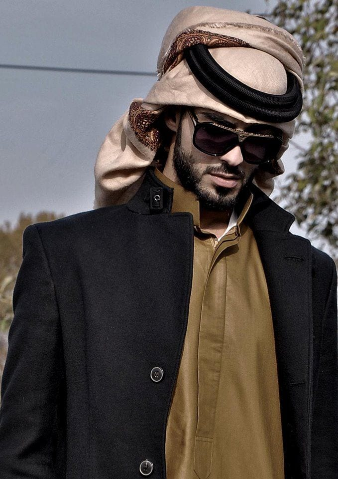 Arab fashion men